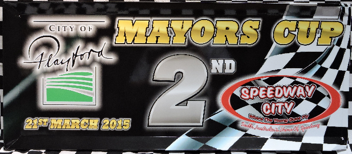 2015 City of Playford Mayors Cup 2nd Place