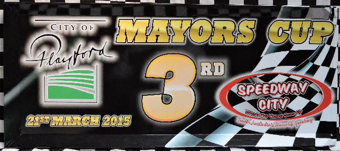 2015 City of Playford Mayors Cup 3nd Place