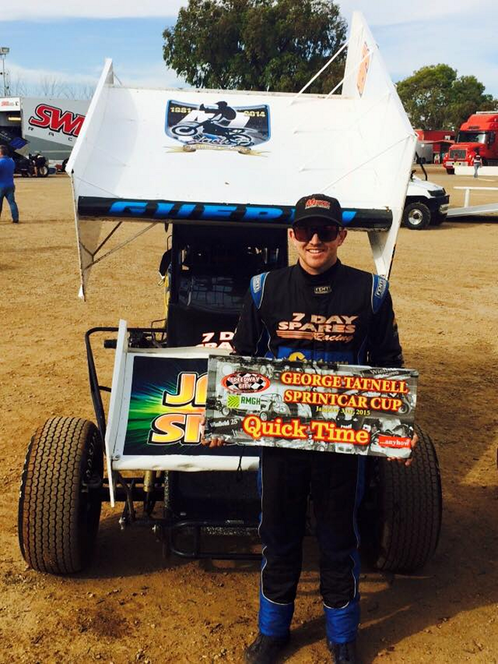 Brendan Guerin - 2015 George Tatnell Cup Quick Time
