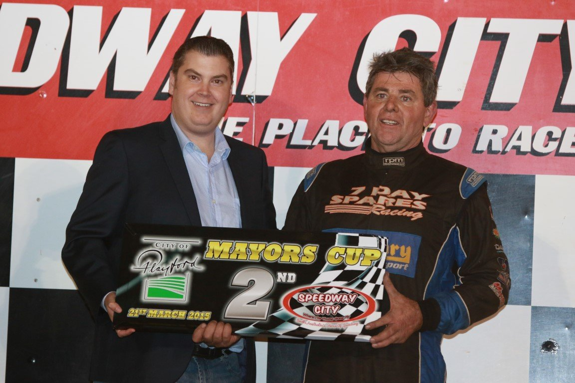 2015 Mayors Cup - Darryl Guerin 2nd Place