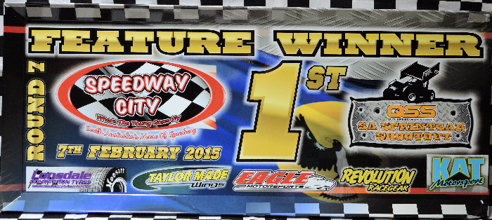 2014-2015 QSS SA Sprintcar Shootout Series Race Event Winner