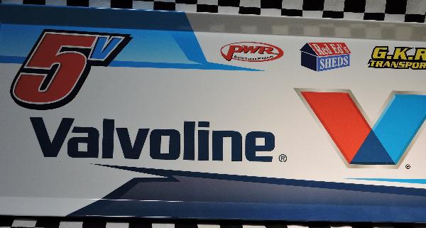 MDV5-1617 – 2017 Max Dumesny v5 Valvoline Top Wing Panel