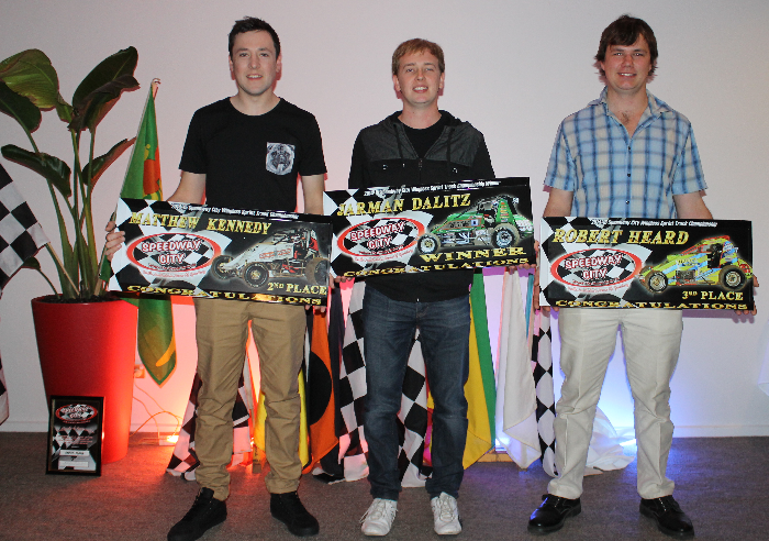 2014 - 2015 Speedway City Wingless Sprints Points Place Getters