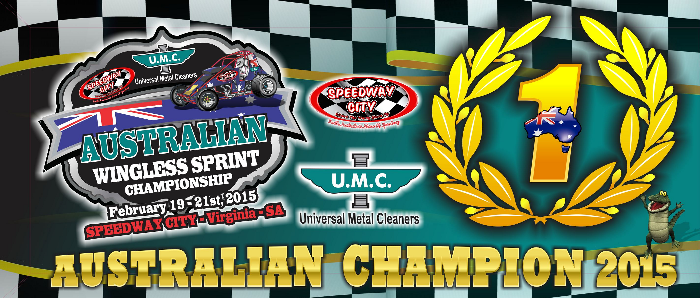 2015 Australian Wingless Sprintcar Title Winner