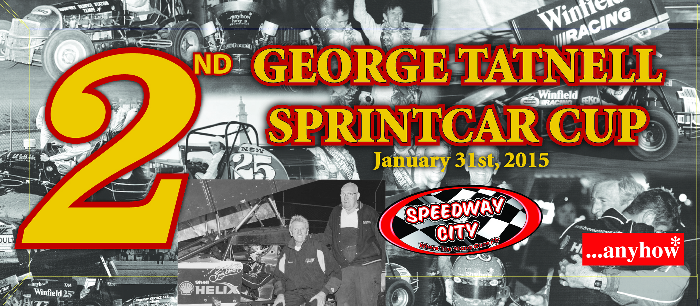 2015 George Tatnell Sprintcar Cup 2nd Place