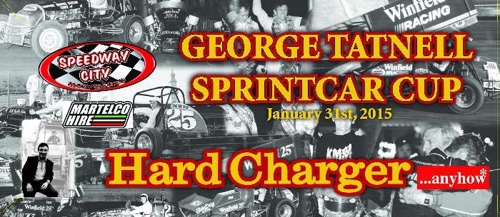 2015 George Tatnell Sprintcar Cup Hard Charger