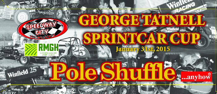 2015 George Tatnell Sprintcar Cup Pole Shuffle