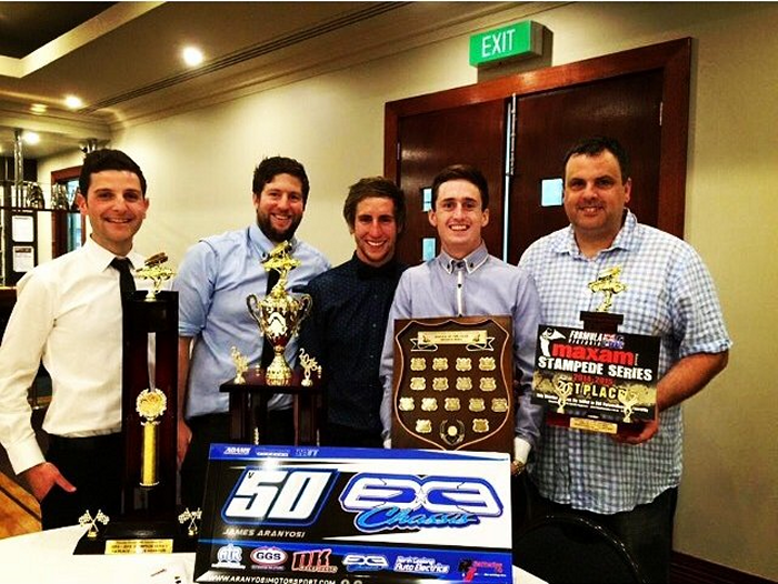 Congratulations to the trophy winners at the Victorian Formula 500 presentations