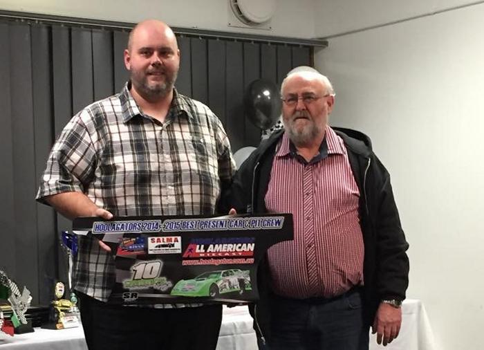 Mat Crimmins - Best Presented Car & Pit Crew Award