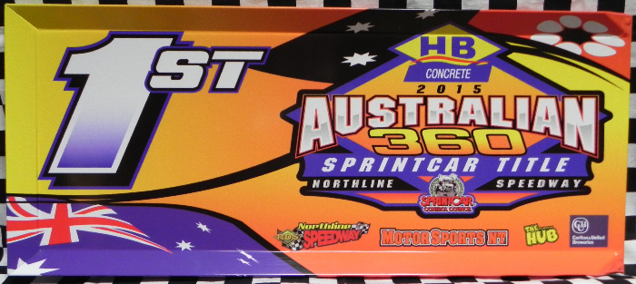 2015 Australian 360 Sprintcar Title Winners Panel