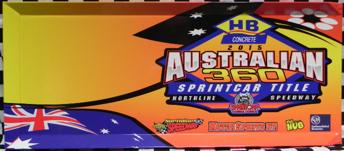 2015 Australian 360 Sprintcar Title Fan Panel