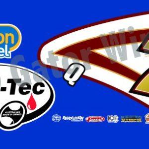 RFHTOQ7-2011 – 2011 Robbie Farr Q7 Hi-Tec Oils Top Wing Panel