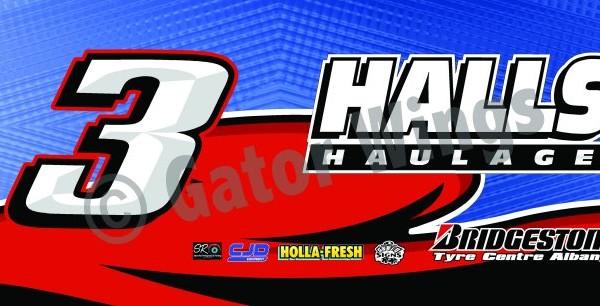 SLW3-1213 – 2013 Steven Lines & Halls Motorsport w3 Top Wing Panel
