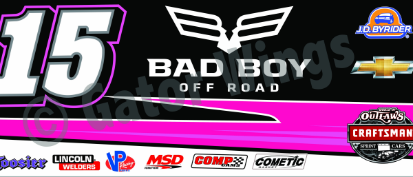 DSUSA15-2016 – 2016 Donny Schatz USA15 Bad Boy Pink Top Wing Panel