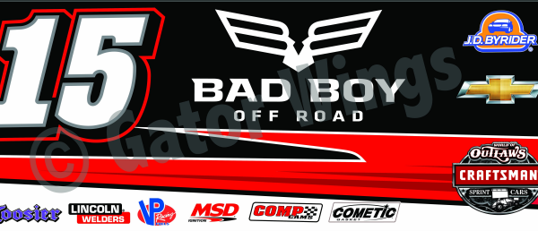 DSUSA15-2015 – 2015 Donny Schatz USA15 Bad Boy Red Top Wing Panel
