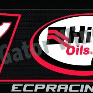 RFBQ7-1617– 2017 Robbie Farr NQ7 Hi-Tec Oils Black Top Wing Panel