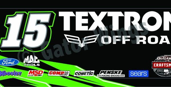 DSUSA15-2017 – 2017 Donny Schatz USA15 Textron Off Road Top Wing Panel