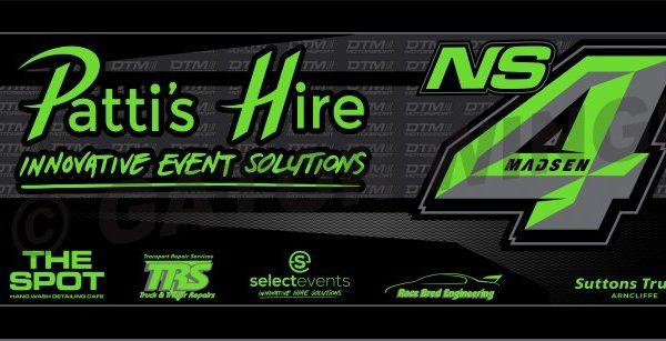 IMNS4 -1920 – 2019 Ian Madsen DTM Motorsport Top Wing Panel